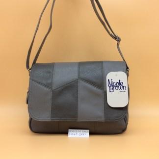 Classic Nicole Handbag. 2548. Grey