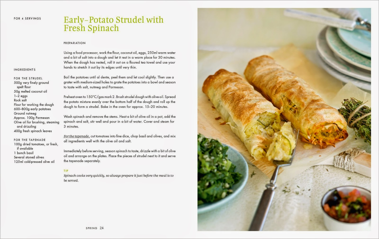 How to eat the viva mayr way for weight loss jane alexander packed with nice looking recipes divided into the four seasons so were talking about things like early potato strudel with fresh spinach forumfinder