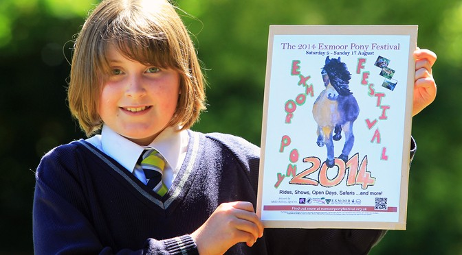 Exmoor Pony Festival Poster Competition Winner