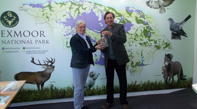 Journalist Wins the Exmoor Society Conservation Award