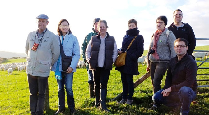 Anglo/French Exchange Focuses on Exmoor Farm Tourism