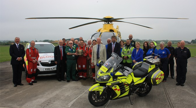 ENHANCEMENT IN AIR AMBULANCE CRITICAL CARE CAPABILITY