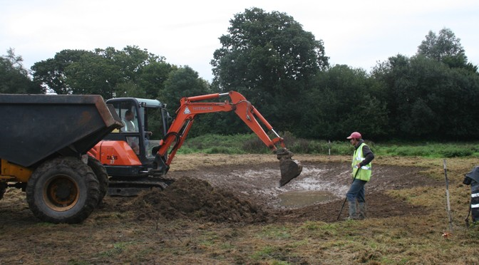 FREMINGTON NATURE RESERVE GETS SPECIAL SCRAPE