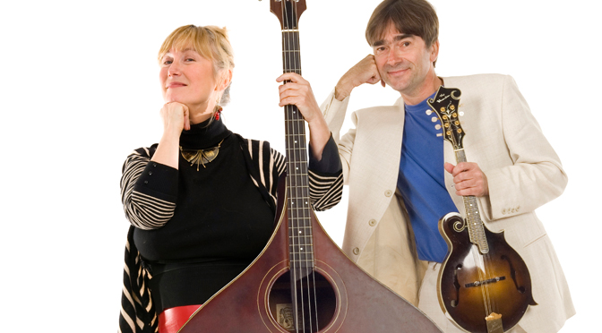 SIMON MAYOR AND HILARY JAMES IN CONCERT AT HALSWAY
