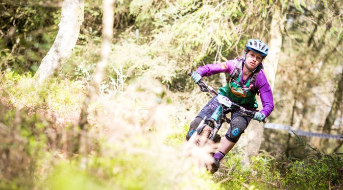 BECKY PARKER ON THE SOUTHERN ENDURO CHAMPIONSHIP