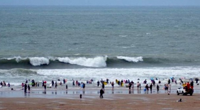 RNLI LIFEGUARD RECOGNISED FOR COURAGEOUS RESCUE OF BODY BOARDER AT CROYDE