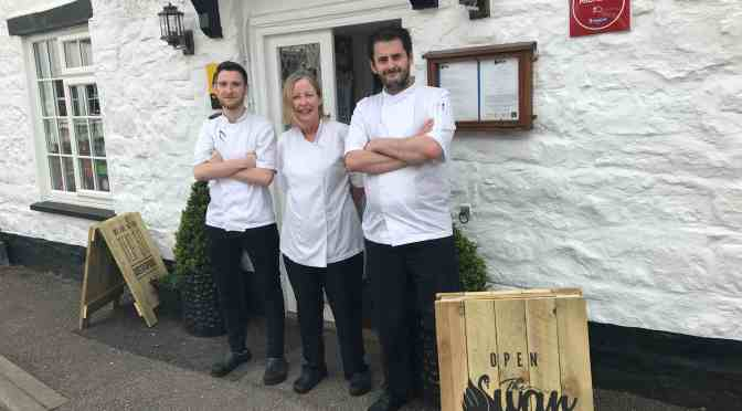 OLIVIER AND FINN SERVE UP TASTY NEW ROLES AT THE SWAN