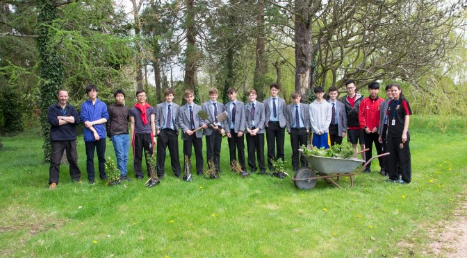 KING'S PUPILS ENRICH BIODIVERSITY OF SCHOOL GROUNDS