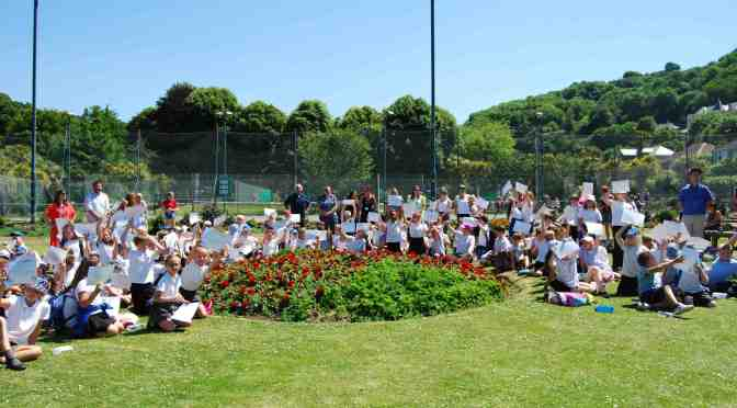 ILFRACOMBE YOUNGSTERS BECOME JUNIOR PARK RANGERS
