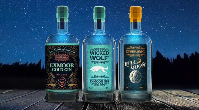 GIN MEETS BEER AND THE RESULT IS THE GROUND-BREAKING EXMOOR GOLD GIN