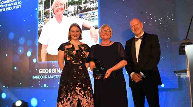 INDUSTRY AWARD FOR ILFRACOMBE'S HARBOURMASTER