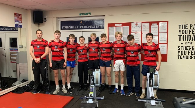 UNDER-16 RUGBY SQUAD ROW FOR WALES