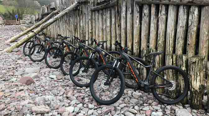 ELECTRIC MOUNTAIN BIKES FOR EXMOOR!