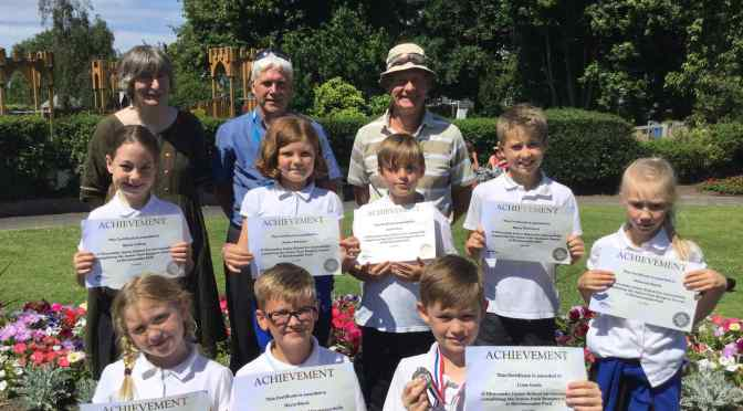 ILFRACOMBE SCHOOLCHILDREN QUALIFY AS JUNIOR PARK RANGERS
