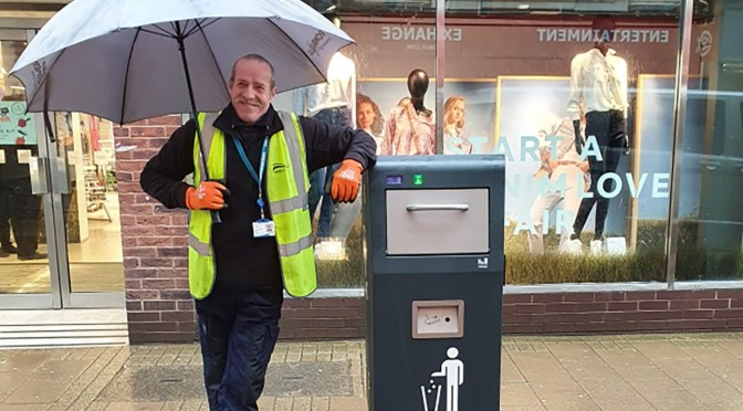NEW SOLAR LITTER BIN TRIAL FOR NORTH DEVON