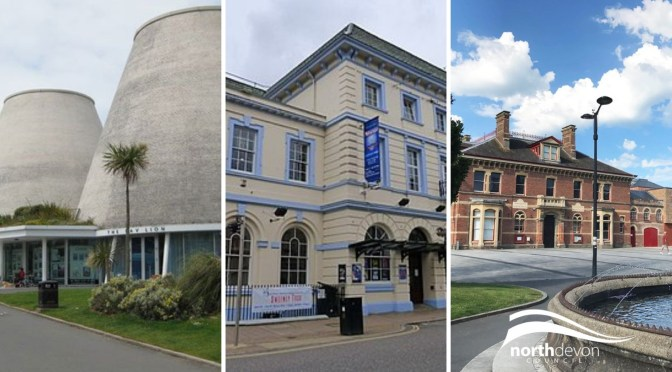 Lifeline grants for Museum of Barnstaple and North Devon, Landmark Theatre and Queen's Theatre