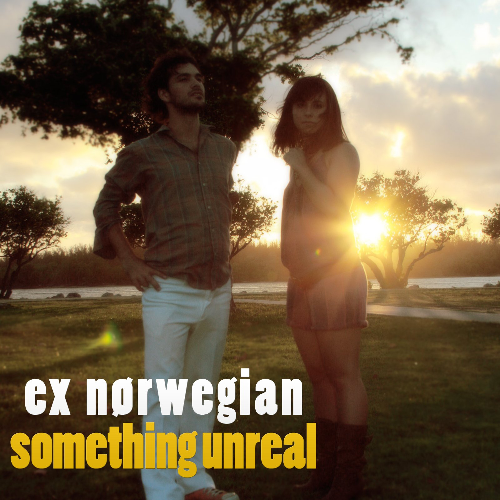 Ex Norwegian - Something Unreal 2008 single cover