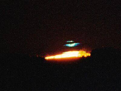 Bill May © 1999 cyan flash at sunrise