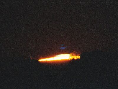 Bill May © 1999 violet flash at sunrise