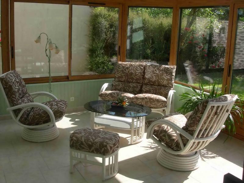 Salon rotin  Exodia Home Design Rennes