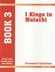 Covenantal Catechism Book 3 - Exodus Books
