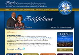 New Life Sterling Website Design