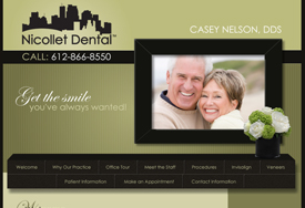 Business web design for Dentist