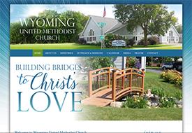 Wyoming United Methodist Church web design