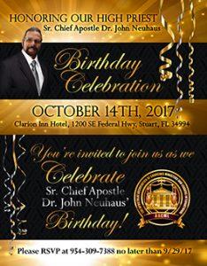 pastor birthday flyer exodus
