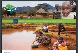 Sub Saharan Turning Point Non-profit web design