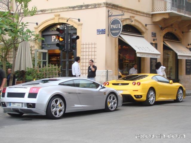 Lamborghini Gallardo Ferrari F430 Exoleb Com