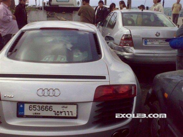Audi-Accident