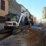 Substitución de la red de agua potable Muro
