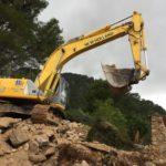 Excavación de una vivienda en Binibona