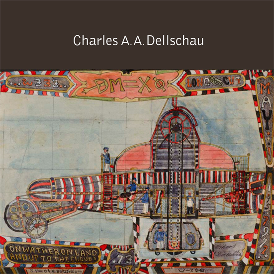 The first major book on Charles Dellschau, produced by Marquand Books and published by D.A.P. with introduction by James Brett founder of The Museum of Everything, and essays by Thomas McEvilley, Roger Cardinal, Thomas Crouch, Barbara Safarova and Randall Morris .