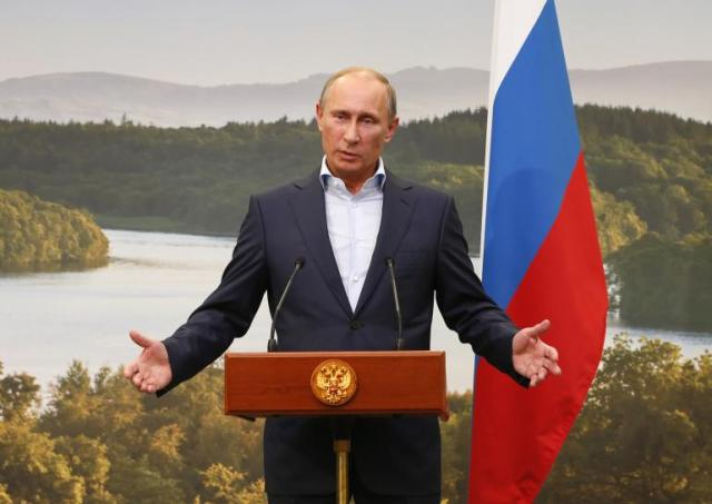 Putin dresses down the Group of Eight — Syrian Free Press