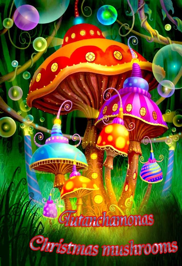 Christmas-mushrooms