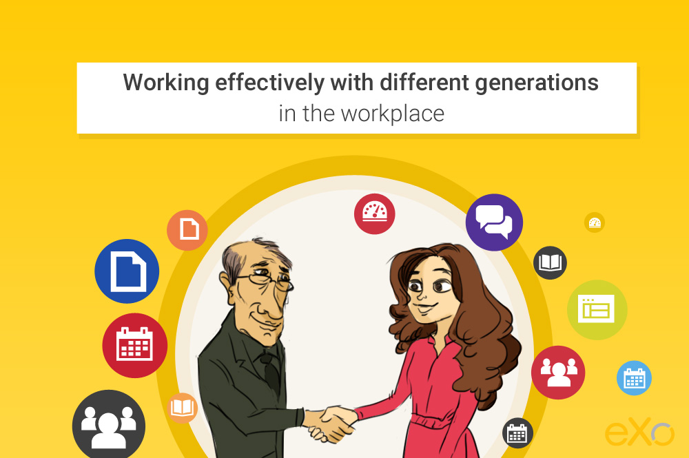 Mixing and managing different generations working together