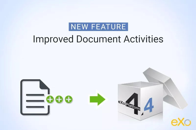 Document feature, document activities