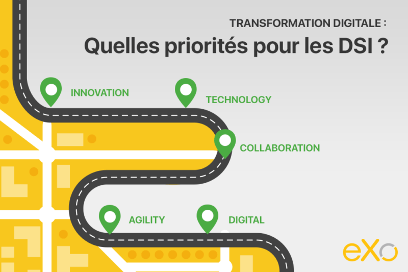 priorités de l'informatique dans la transformation digitale