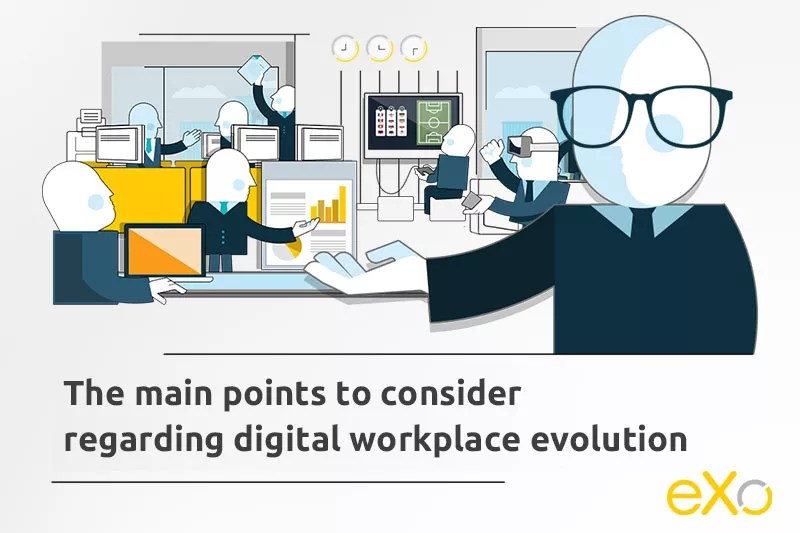 The evolution of digital workplace technology