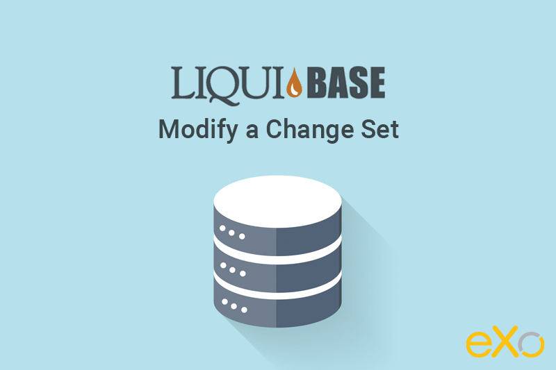 modify liquibase change set