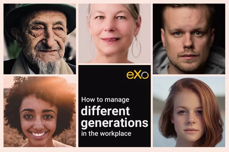 manage different generations in the workplace