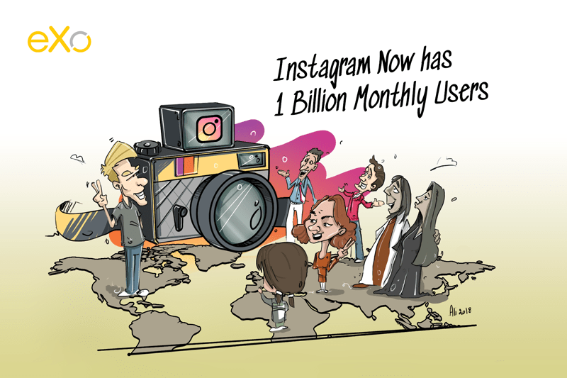 Instagram reaches One Billion Monthly Active Users