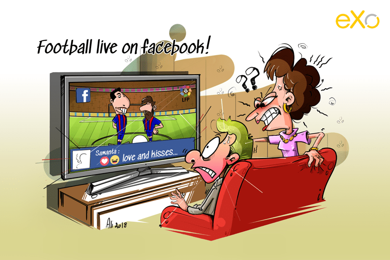 Football Fans: Facebook will never let you go!