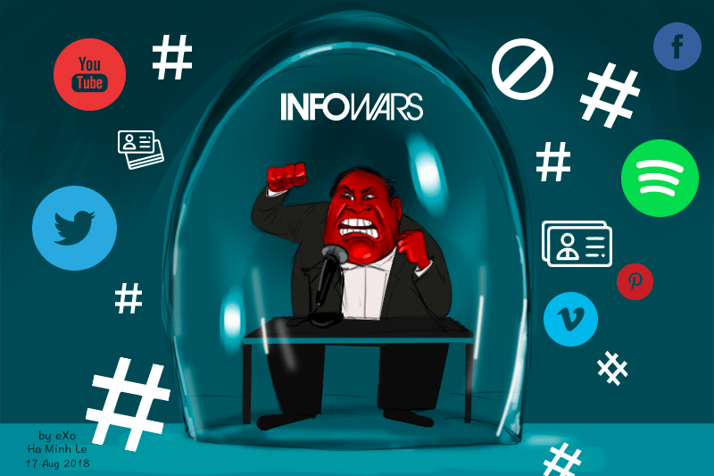 Twitter suspends Infowars' Alex Jones for one week
