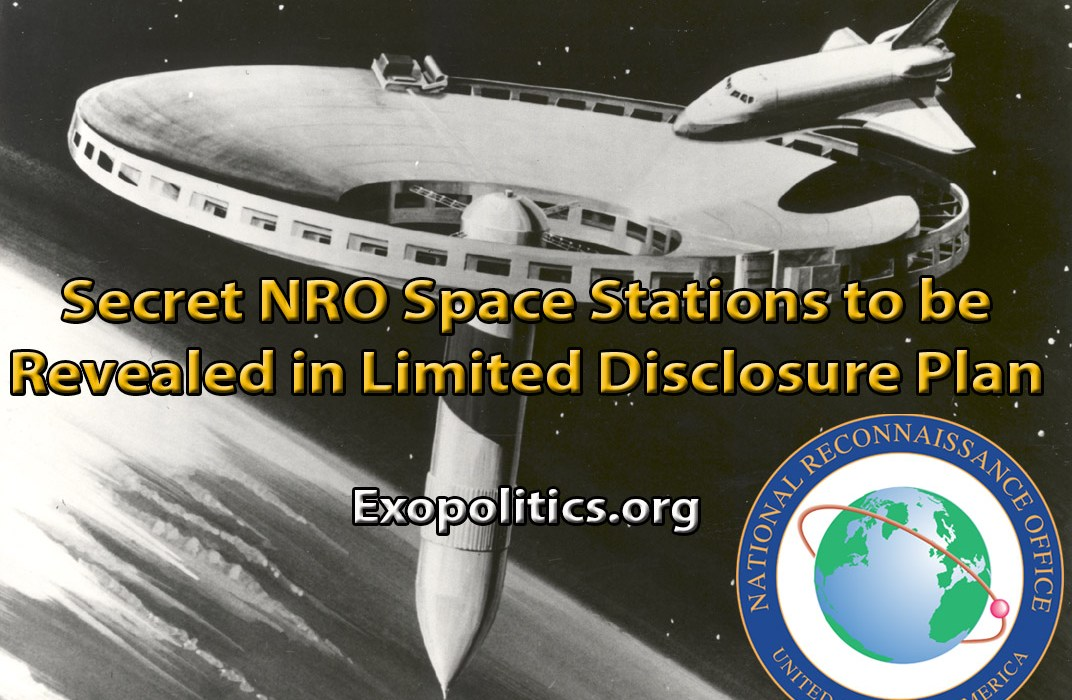 Secret NRO Space Stations to be Revealed in Limited Disclosure Plan