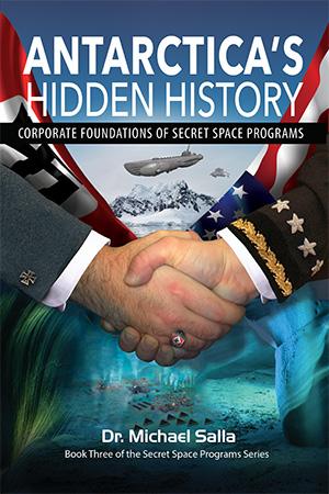 Майкл Салла - QАнон  раскрывает связи между нацистами и Глубинным государством и попытки развязать войну между США и Россией Antarctica-Front-300px