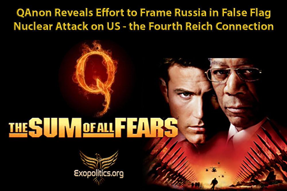 QAnon Reveals Effort to Frame Russia in False Flag Nuclear Attack on US – the Fourth Reich Connection