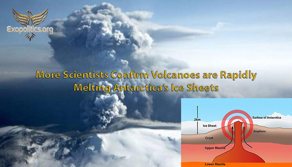 More Scientists Confirm Volcanoes Rapidly Melting Antarctica's Ice Sheets